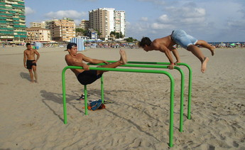 Parque de Barras «Street Workout»